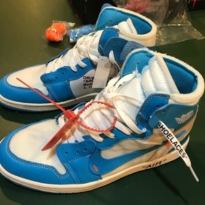 Air jordan 1 x Off White mens sneaker